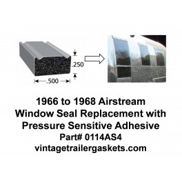 Airstream 1966 to 1968 Window Seal