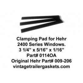 Hehr 2401 Glass Clamping Pads for Hehr Vintage Jalousie Windows