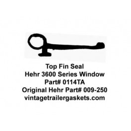 Hehr 3600, 3500, 3200 Top Fin Seal for Hehr Jalousie Windows