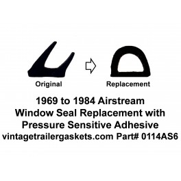 Airstream and Air-O-Lite Window Seal Replacement
