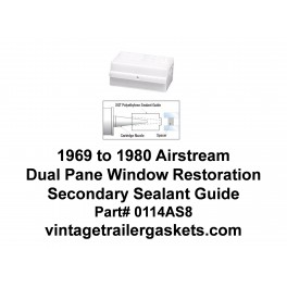 1969 to 1980 Airstream Sealant Application Guide