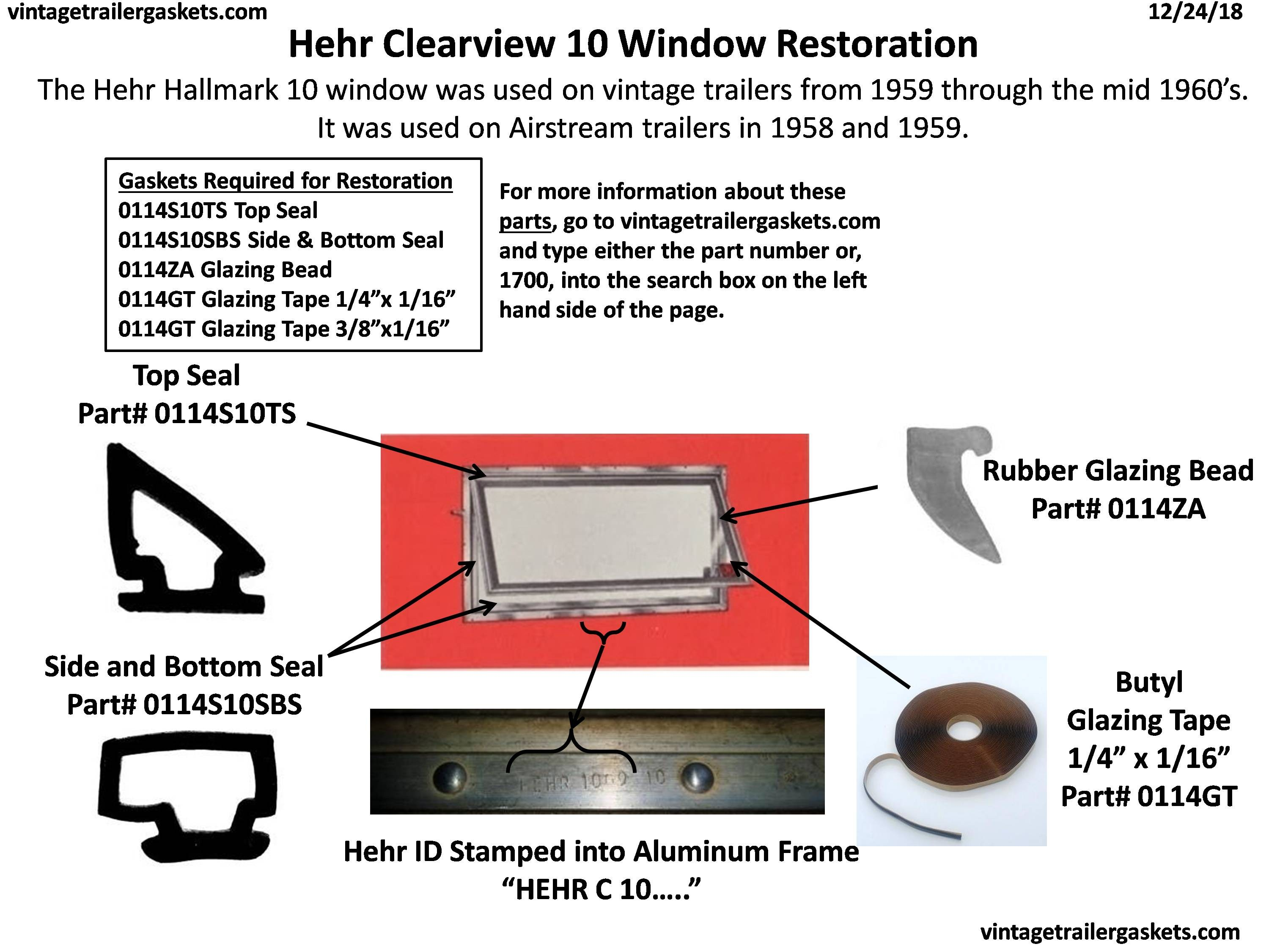Hehr Clearview 1000 Vintage Awning Window