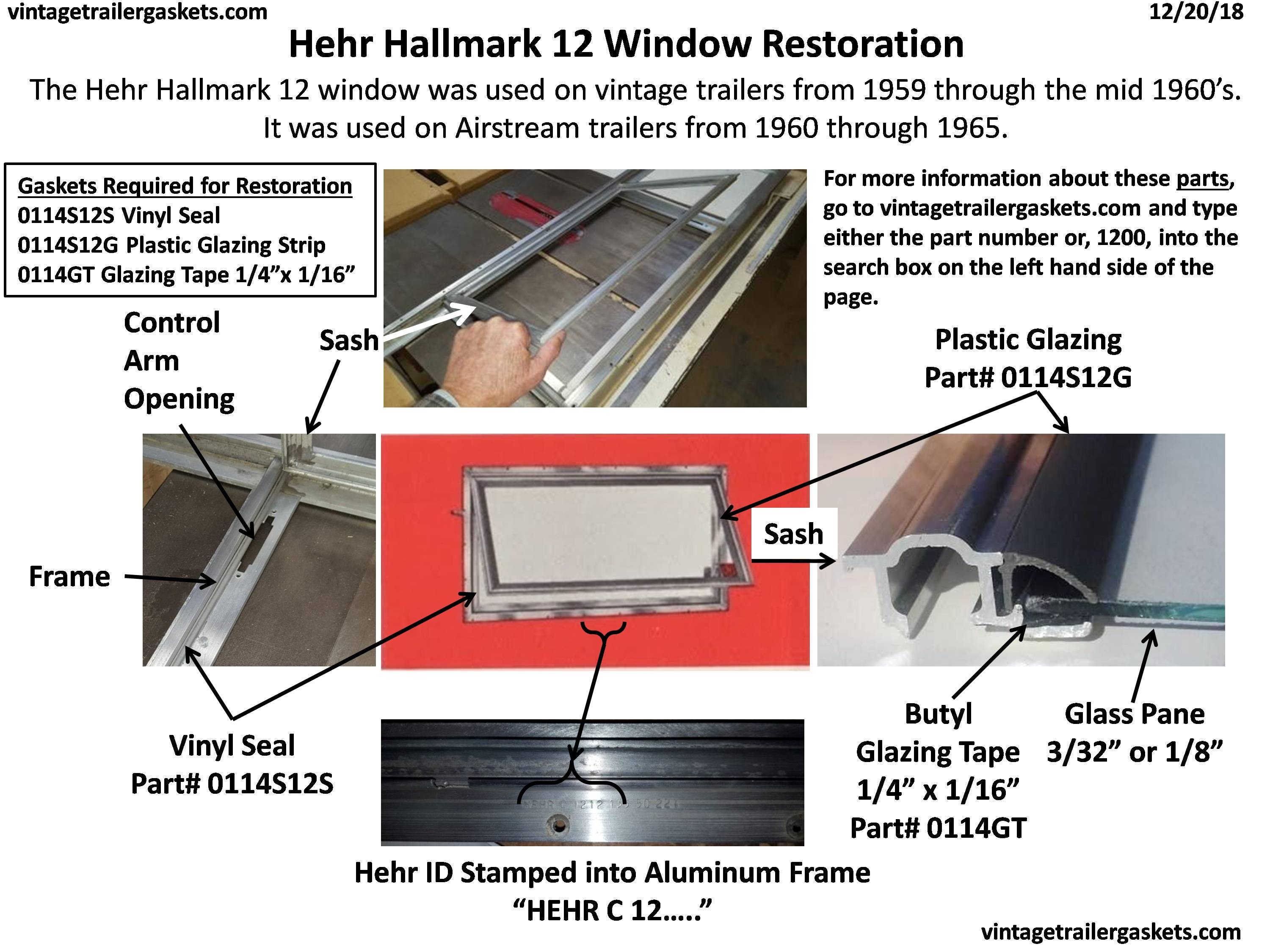 Herh Hallmark 1200 Awning Window Restoration