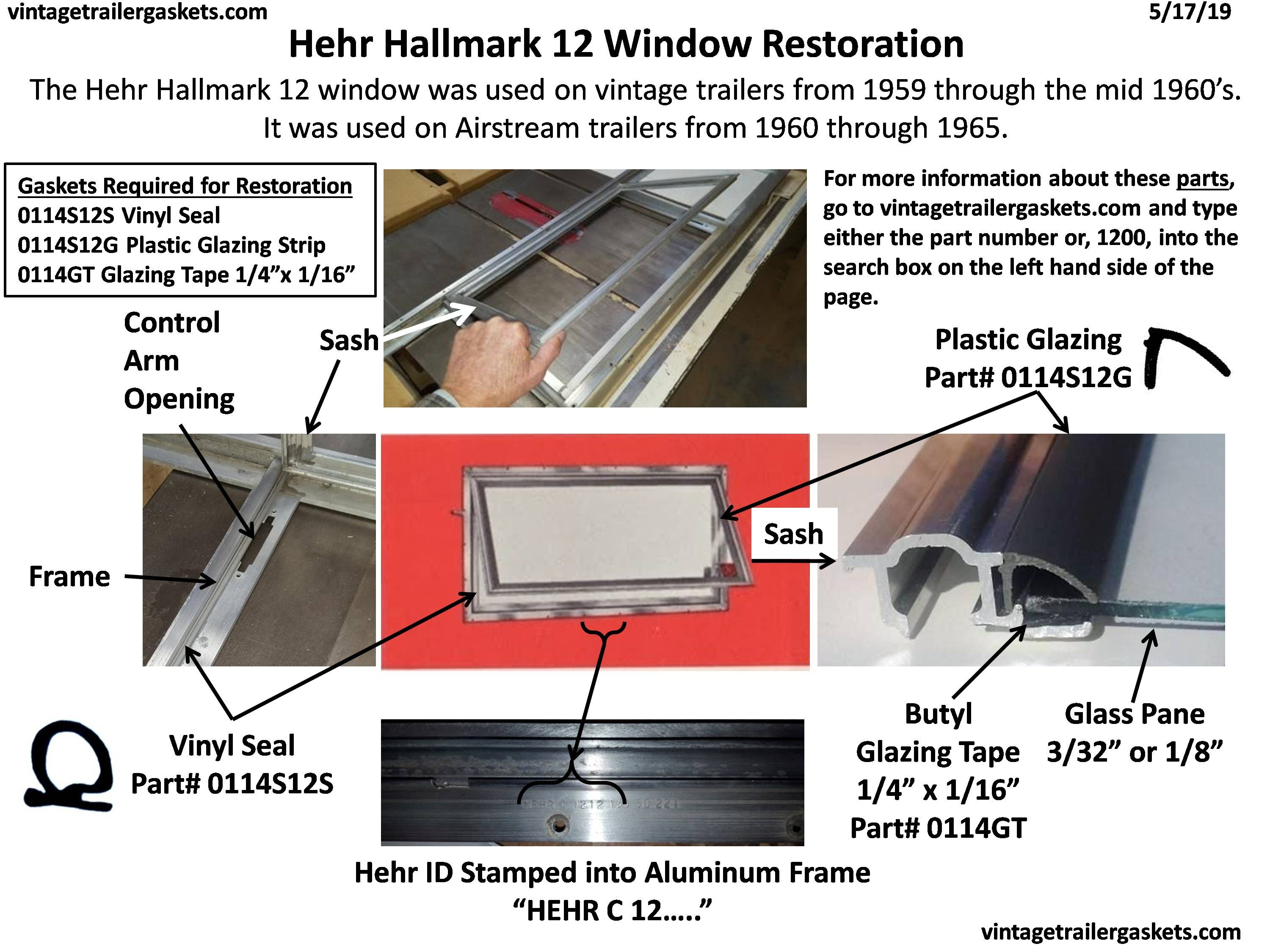 Gaskets, Seals, and Rubber for Vintage Hehr and Woodlin